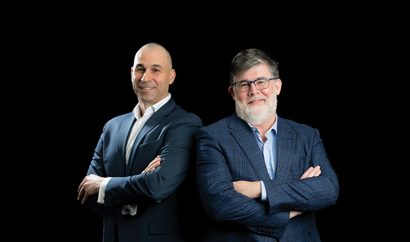 Dan LeBlanc and Colin White, founders of WLWP Wealth Planners